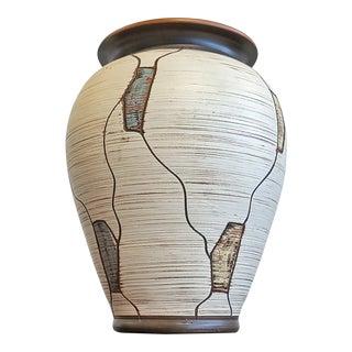 Sawa Keramik 'Napoli' Decor Klinker Vase Nr 207/20 For Sale