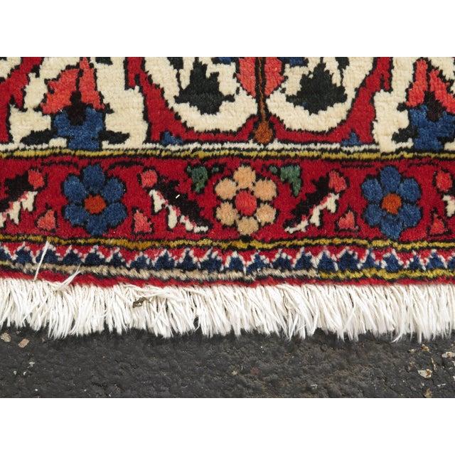 Vintage Hamadan Style Rug- 8′7″ × 12′2″ For Sale - Image 4 of 11