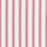 Image of Schumacher X Mark D. Sikes Ojai Stripe in Red Fabric For Sale