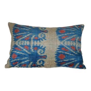 Silk Velvet Ikat Helia Pillow