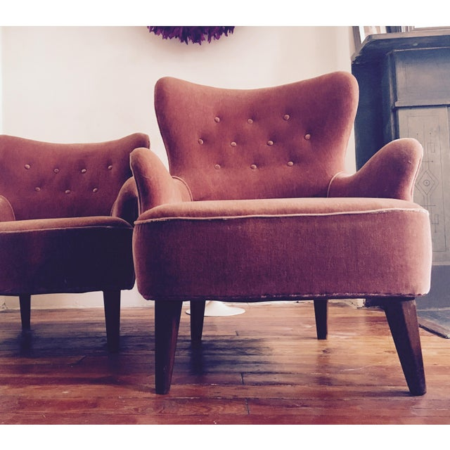 1958 Vintage Theo Ruth for Artifort Mid Century Danish Modern Lounge Chairs - a Pair - Image 5 of 6
