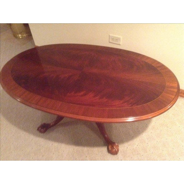 All Ethan Allen Coffee Tables: Ethan Allen Mahogany Coffee Table