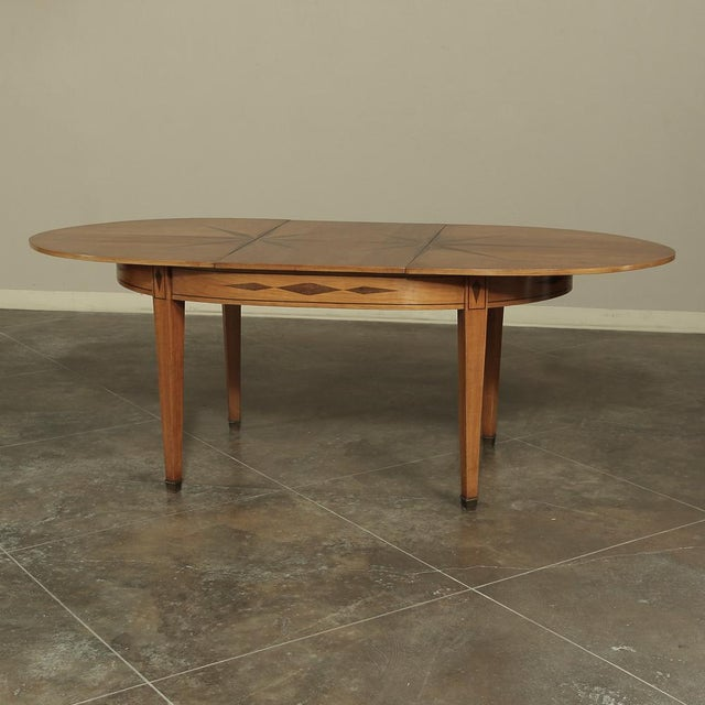 Mid-Century French Directoire Style Inlaid Table For Sale - Image 12 of 13