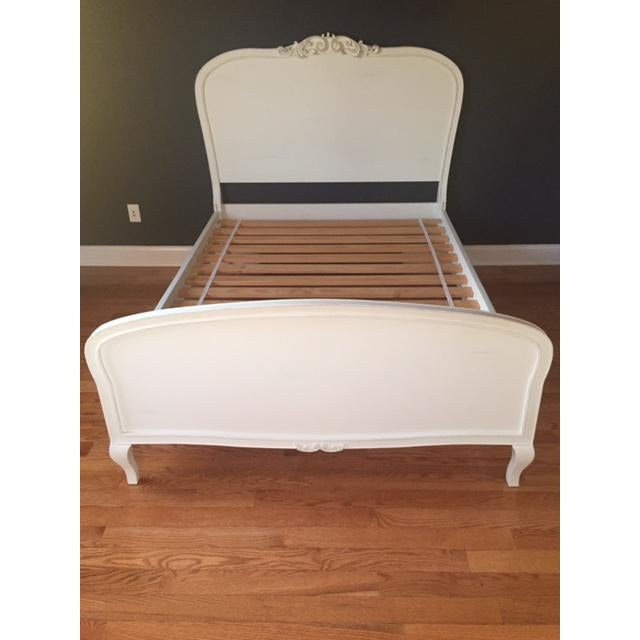"This is a gorgeous, beautiful quality bed. It is from Pottery Barn Teen, known as the ""Lilac Bed."" Size: Full. It is is..."