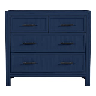 Bermuda Four-Drawer Chest - Navy Blue For Sale
