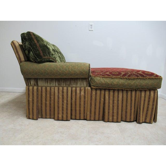 1990s 1990s Vintage Ej Victor Carol Hicks Bolton Custom French Sofa For Sale - Image 5 of 13