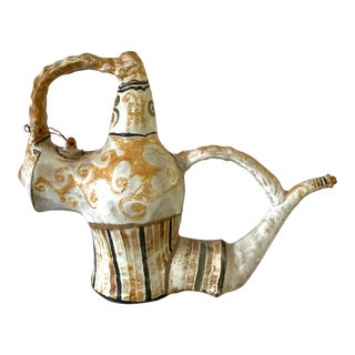 Vintage Mid-Century Kenneth Price American Studio Pottery Teapot For Sale