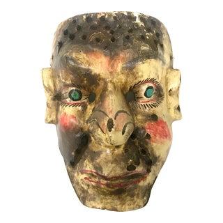 Vintage Mexican Folk Art Mask