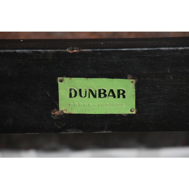 Edward Wormley for Dunbar Rocking Lounge Chairs - a Pair For Sale - Image 9 of 10
