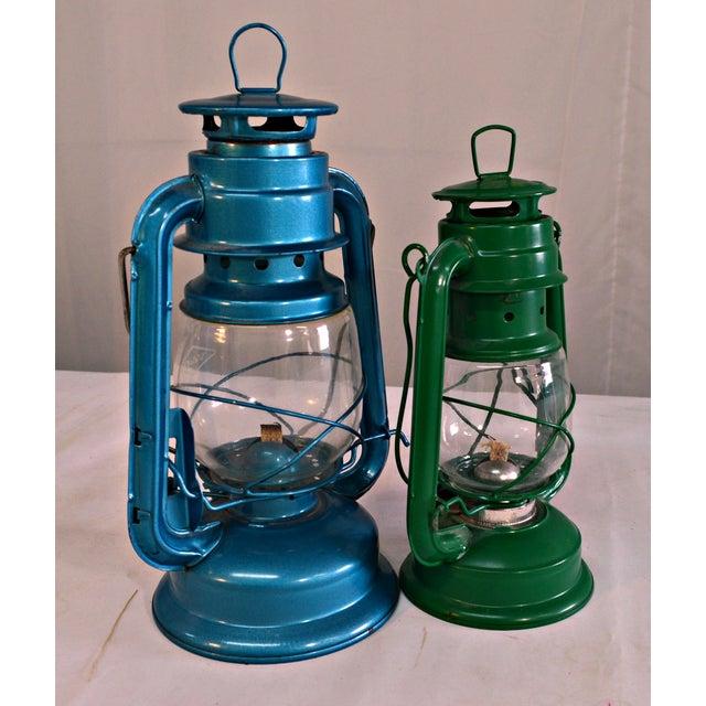 Winged Wheel Railroad Hanging Lanterns - A Pair - Image 4 of 7