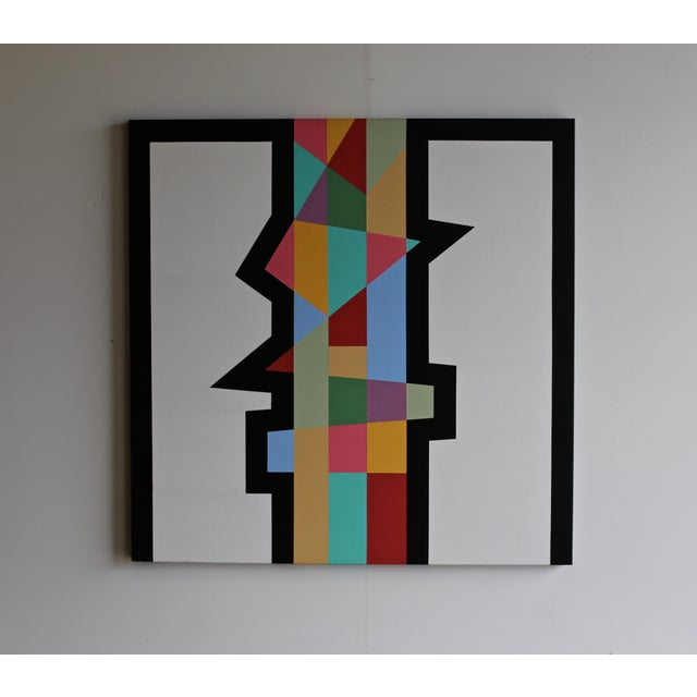 "2010s John Morton Thomas ""Untitled"" Painting C. 2014 For Sale - Image 5 of 5"