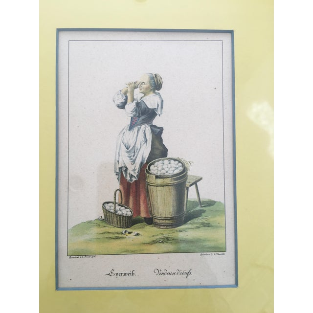 French Vintage Framed Viennese Costume Prints - Set of 6 For Sale - Image 3 of 13