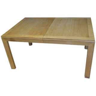 Dining Table With Two Leaves Designed by Robsjohn-Gibbings for Widdicomb For Sale