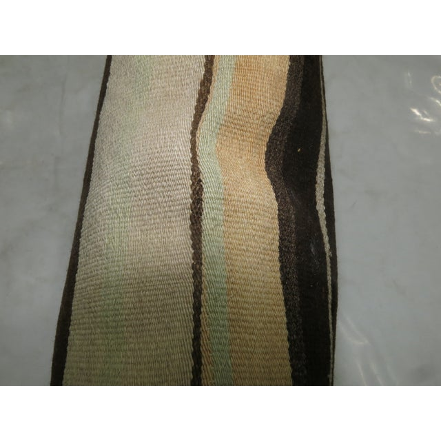 Mid-Century Modern Large Kilim Pillow For Sale - Image 3 of 3