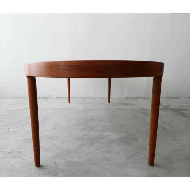 Mid Century Danish Teak Oval Dining Table by Harry Ostergaard for A/S Randers For Sale In Las Vegas - Image 6 of 11