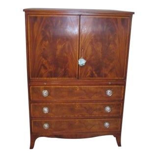 Mahogany Man's Chest by Beacon Hill For Sale