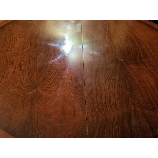 Late 19th Century American Mahogany Extendable Dining or Center Table For Sale - Image 12 of 13