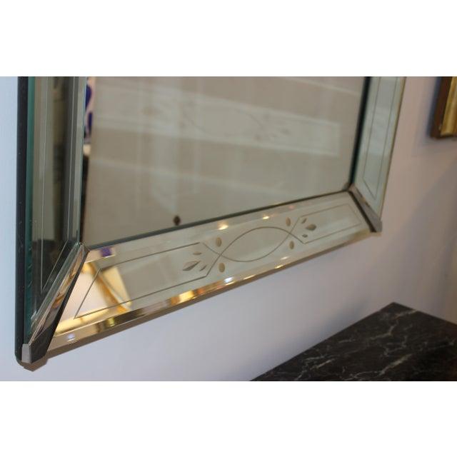 Art Deco Vintage American Art Deco Mirror For Sale - Image 3 of 12