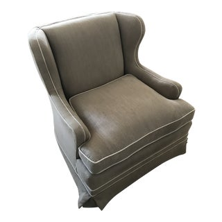 Contemporary Rotating Rocking Chair For Sale