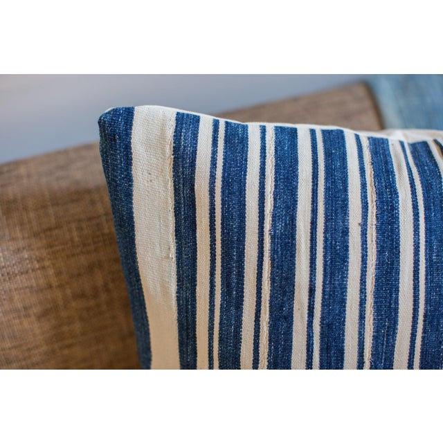 Oversize Indigo Blue Pillow - Image 5 of 6