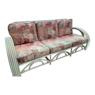 Ficks Reed Vintage Couch For Sale