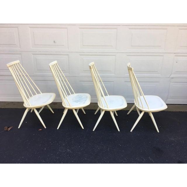 Danish Modern 'Mademoiselle' Lounge Chair by Ilmari Tapiovaara for Edsby Verken - Set of 4 For Sale - Image 3 of 10