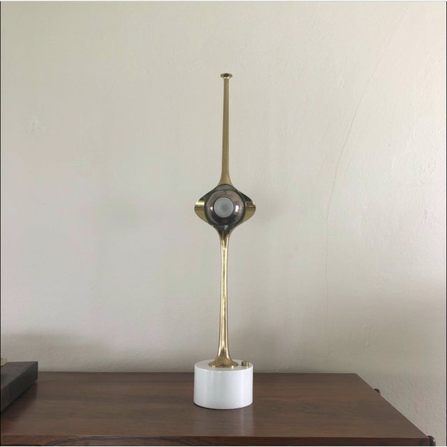 1960s Mid-Century Modern Angelo Lelli Cobra Lamp for Arredolluce For Sale - Image 9 of 9