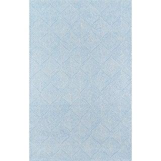 "Madcap Cottage Roman Holiday via Del Corso Light Blue Area Rug 3'6"" X 5'6"" For Sale"