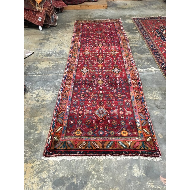 "Hosenibad Persian Runner - 3'2"" x 10'1"" - Image 2 of 8"