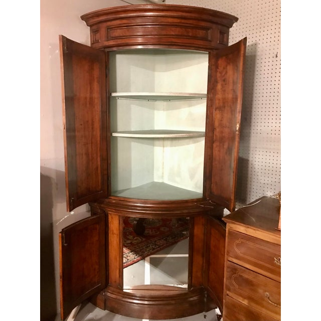 "French Louis Philippe Pairs of ""encoinures"" Corner Cabinets a Pair For Sale - Image 3 of 7"