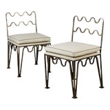 Image of 'Méandre' Side Chairs by Design Frères - a Pair For Sale