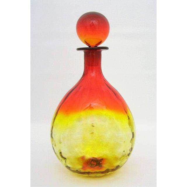 Mid-Century Blenko Amberina Glass Decanter - Image 2 of 11
