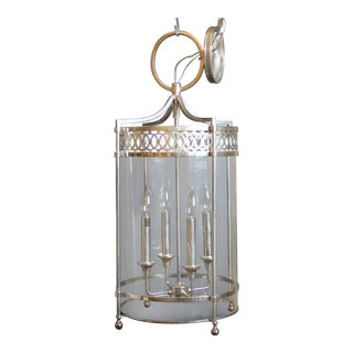 Hudson Valley Lighting Amelia Polished Nickel Pendant For Sale