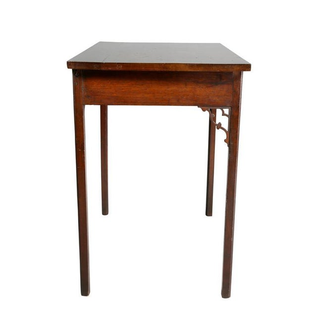 George III Mahogany Side Table For Sale In Boston - Image 6 of 9
