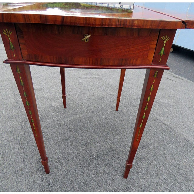 Early 20th Century Adam's Style Pembroke Table For Sale - Image 5 of 11
