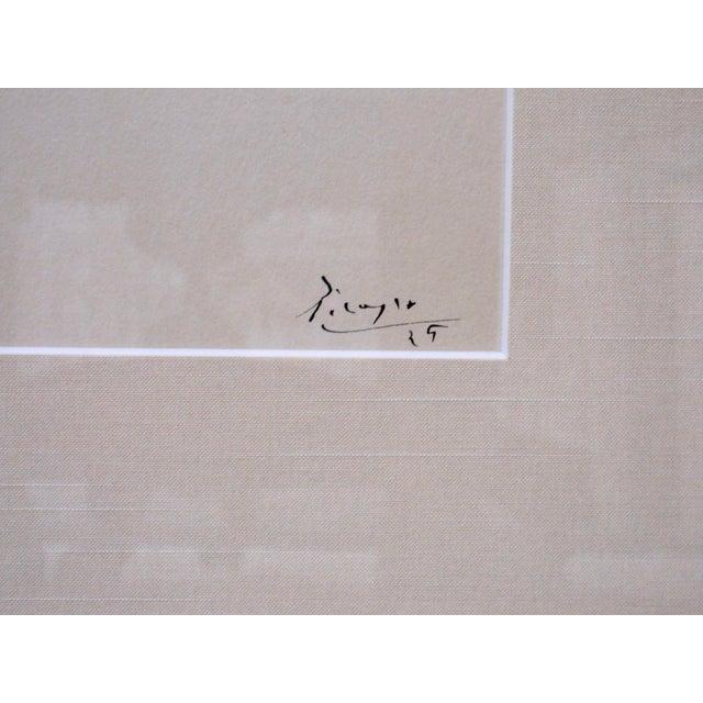 "1940s 1940s Vintage Pablo Picasso ""Four Dancers"" Ballet Signed Original Lithograph Print For Sale - Image 5 of 7"