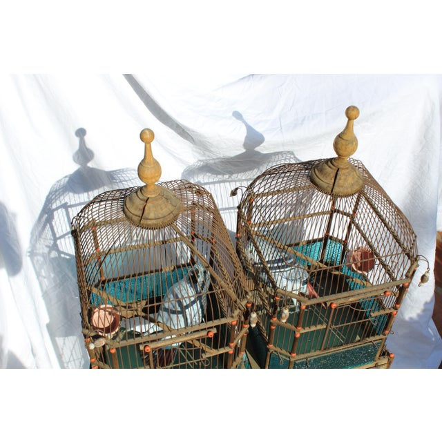 Traditional 19th Century English Victorian Bird Cage For Sale - Image 3 of 9