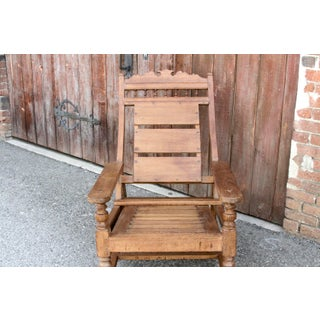 Vintage Teak Colonial Plantation Chair Preview