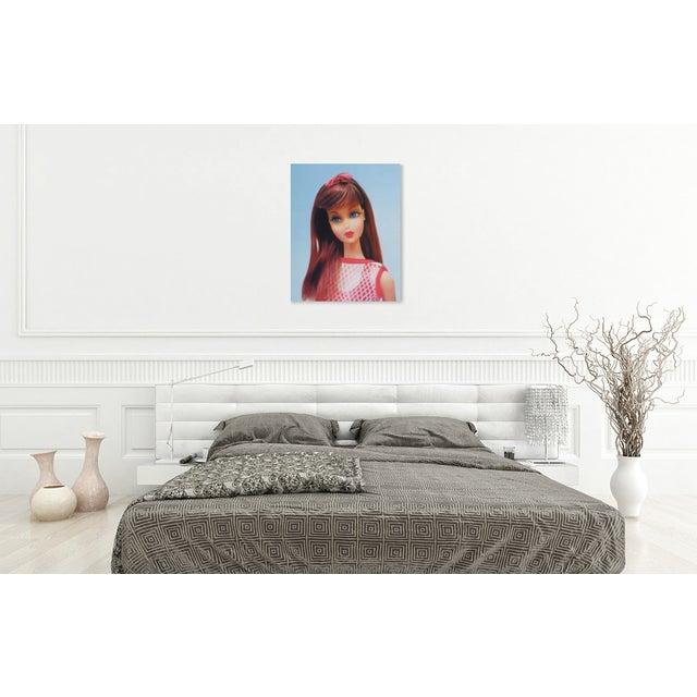 """""""Twist 'N Turn"""" Barbie Oil Painting For Sale - Image 10 of 11"""