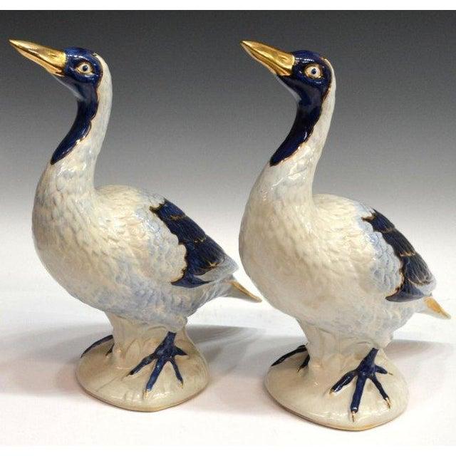 Vintage Glazed Ceramic Ducks - A Pair - Image 2 of 5