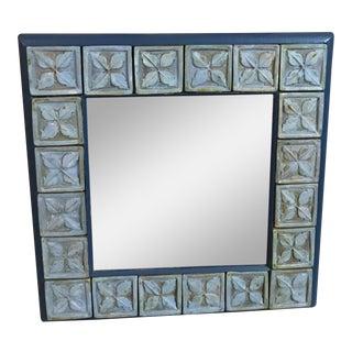 Modern Handmade Tile Mirror
