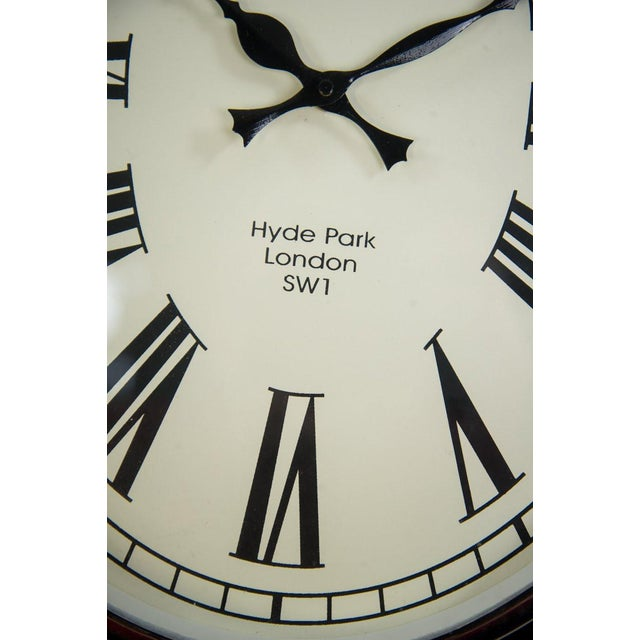 Contemporary Oval Colmore Wellington Wall Clock For Sale - Image 3 of 7