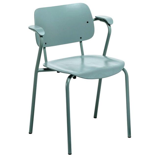Artek Lukki Chair in Sage Green by Ilmari Tapiovaara & Artek For Sale - Image 4 of 4