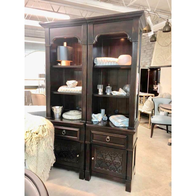 These lovely book cases were originally the end caps to a large entertainment center. We love them for small spaces… And...