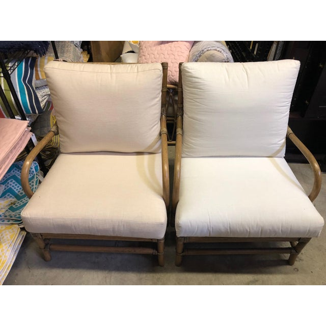 Contemporary Selamat Designs Tan Ava Lounge Chairs - A Pair For Sale - Image 13 of 13