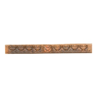 19th Century Antique Vinayaka Carved Panel For Sale