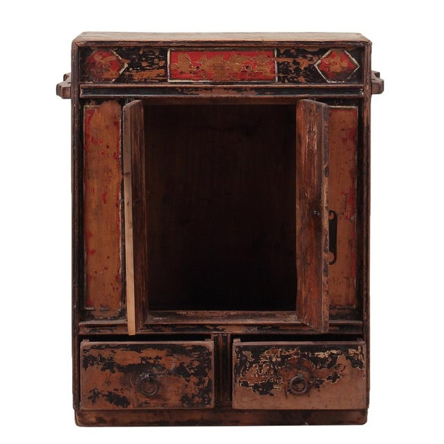 C. 1920 Chinese Painted Cabinet - Image 2 of 4