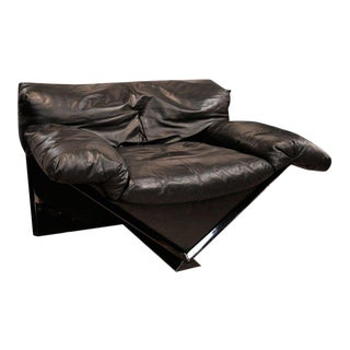"""Italian MIM Leather Armchair """"VICTORY"""" For Sale"""