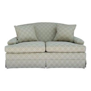 Vintage C.1996-98 Brunschwig & Fils Love Seat/Club Sofa Settee For Sale