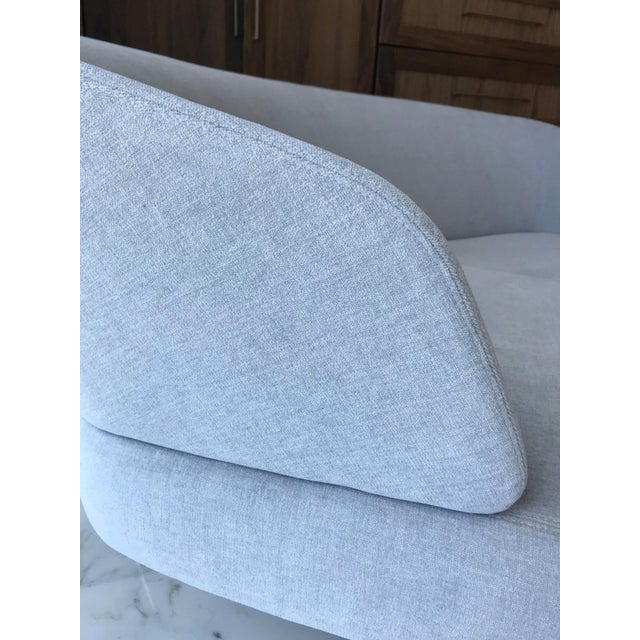 Creed Curved Lounge Sofa Designed by Minotti For Sale - Image 11 of 13